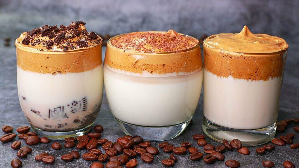 3 variations-dalgona-coffee